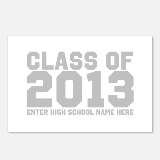 2013 Graduation Postcards (Package of 8)