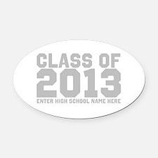 2013 Graduation Oval Car Magnet