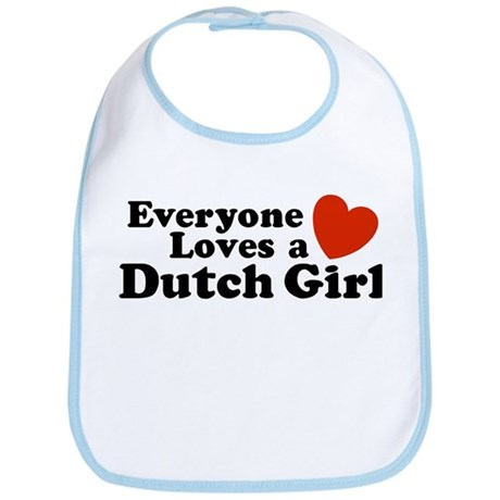 Everyone Loves a Dutch Girl Bib