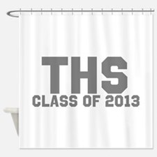 2013 Graduation Shower Curtain