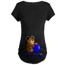 Future Bowler in Blue T-Shirt