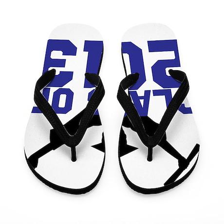 2013 Graduation Flip Flops