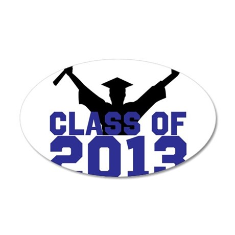 2013 Graduation 20x12 Oval Wall Decal