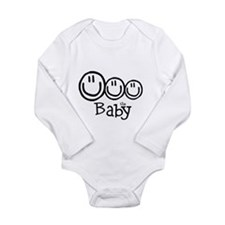 The Baby (3) Long Sleeve Infant Bodysuit