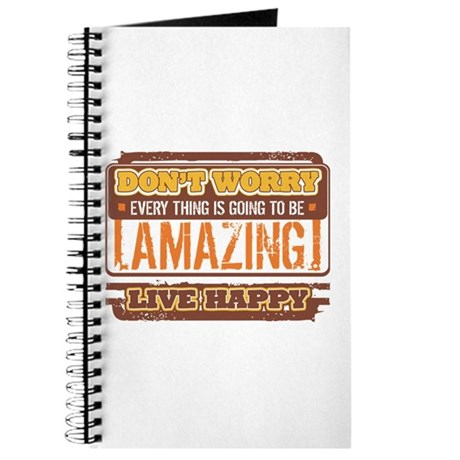 Don't Worry, Live Happy Journal