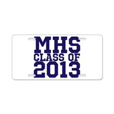 2013 Graduation Aluminum License Plate