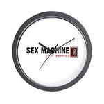 Sex Machine - Coin Operated Wall Clock