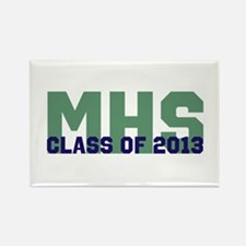 2013 Graduation Rectangle Magnet