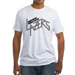Destroy them with lazers Fitted T-Shirt