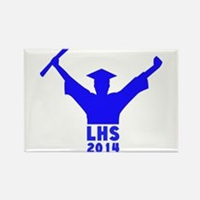 2014 Graduation Rectangle Magnet (100 pack)