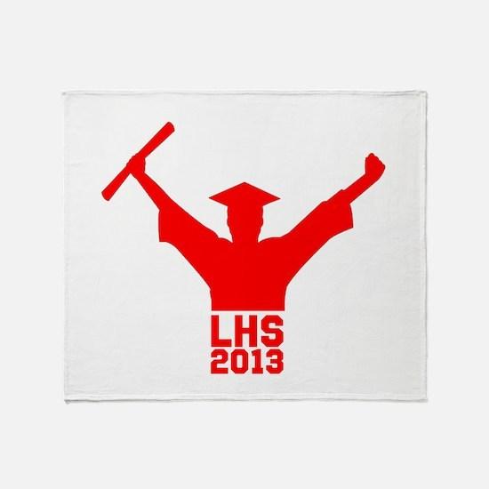 2013 Graduation Throw Blanket