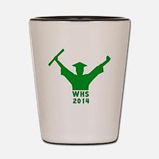 2014 Graduation Shot Glass