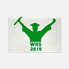 2014 Graduation Rectangle Magnet