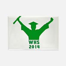 2014 Graduation Rectangle Magnet (10 pack)