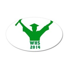 2014 Graduation Wall Decal