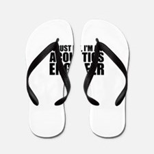 Trust Me, I'm An Acoustics Engineer Flip Flops