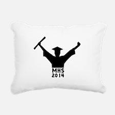 2014 Graduation Rectangular Canvas Pillow