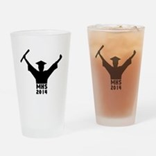 2014 Graduation Drinking Glass