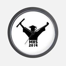 2014 Graduation Wall Clock