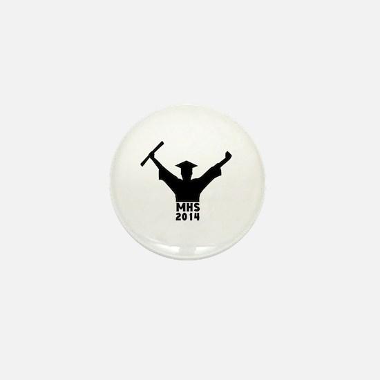 2014 Graduation Mini Button
