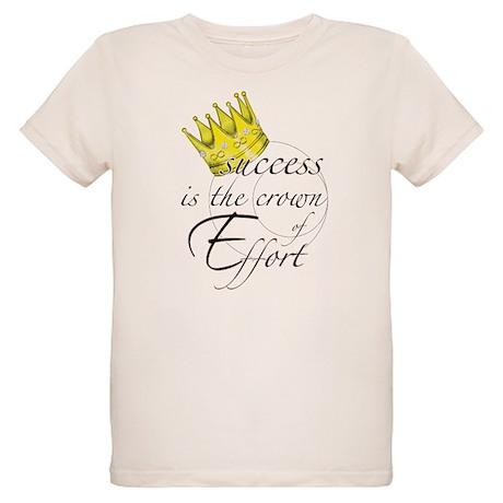Crown of Effort Organic Kids T-Shirt