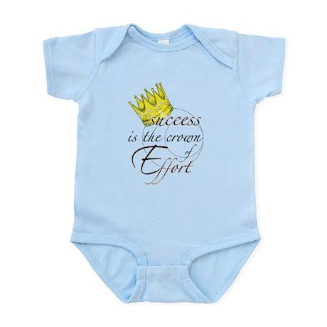 Crown of Effort Infant Bodysuit
