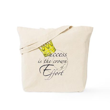 Crown of Effort Tote Bag