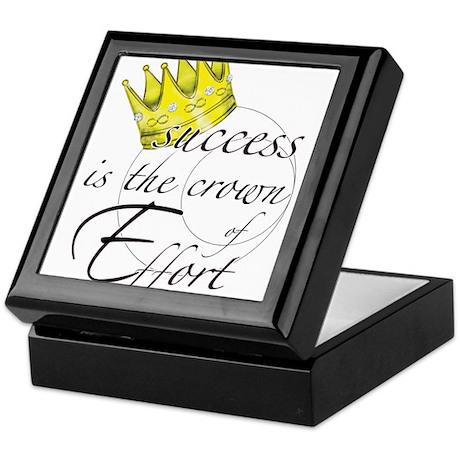 Crown of Effort Keepsake Box