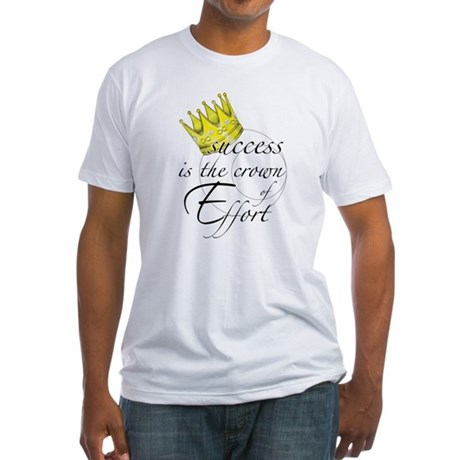 Crown of Effort Fitted T-Shirt