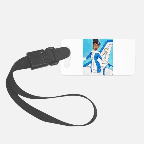 Come Fly With Us Small Luggage Tag
