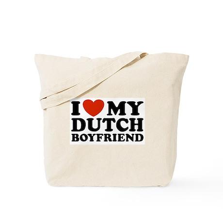 I Love My Dutch Boyfriend Tote Bag
