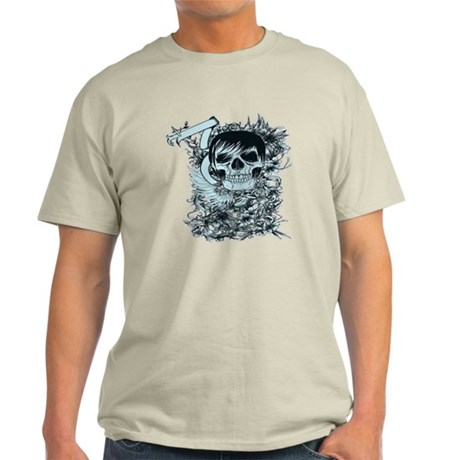 Blu skull Light T-Shirt