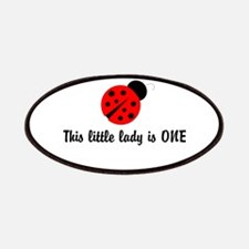 First Birthday Ladybug Patches