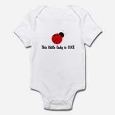 First Birthday Ladybug Infant Bodysuit