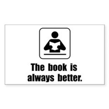 Book Is Better Decal