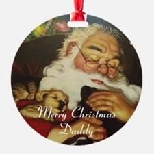 Merry Christmas Daddy Ornament