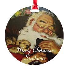 merry Christmas Stephanie Ornament
