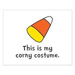 Candy Corn Corny Costume Small Poster