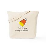 Candy Corn Corny Costume Tote Bag