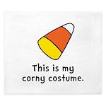 Candy Corn Corny Costume King Duvet