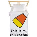 Candy Corn Corny Costume Twin Duvet
