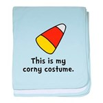 Candy Corn Corny Costume baby blanket