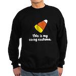 Candy Corn Corny Costume Sweatshirt (dark)