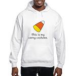 Candy Corn Corny Costume Hooded Sweatshirt