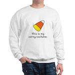 Candy Corn Corny Costume Sweatshirt
