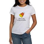 Candy Corn Corny Costume Women's T-Shirt