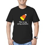 Candy Corn Corny Costume Men's Fitted T-Shirt (dar