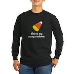 Candy Corn Corny Costume Long Sleeve Dark T-Shirt