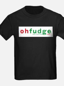 Oh Fudge Ash Grey T-Shirt T