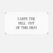 Carpe Diem Banner